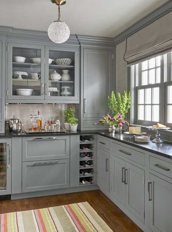 Gray Kitchen Ideas 22
