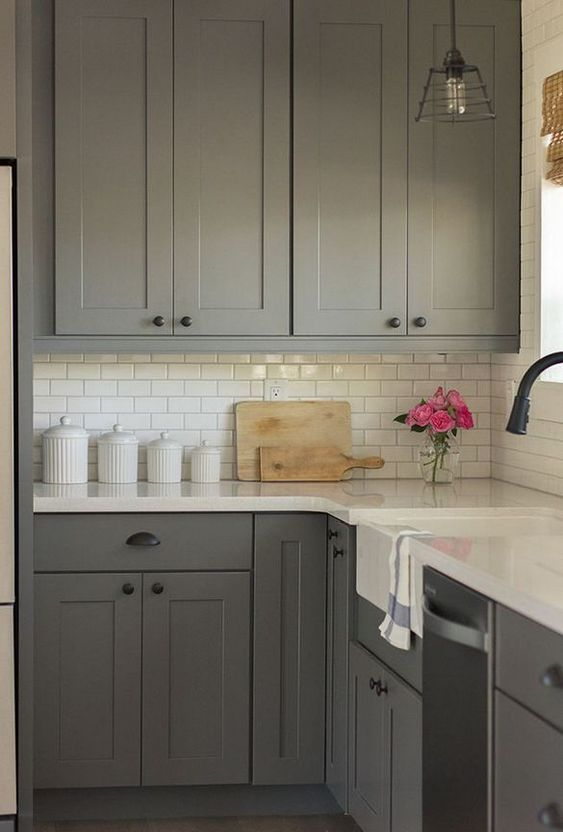 Gray Kitchen Ideas: Simple Stylish Decor