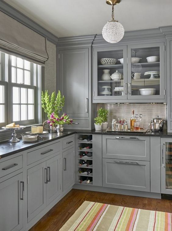 Gray Kitchen Ideas: Gorgeous Neutral Decor