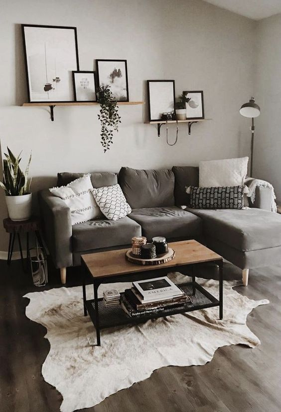 Living Room on a Budget: Warm Neutral Decor