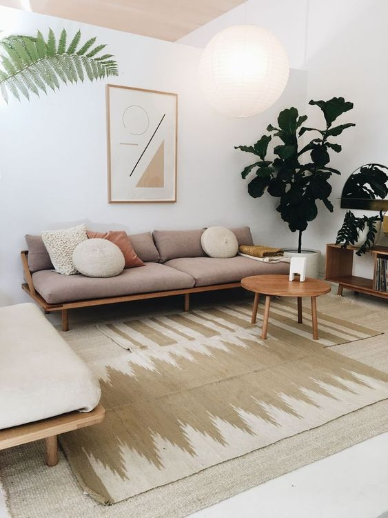 Living Room on a Budget: Chic Natural Decor
