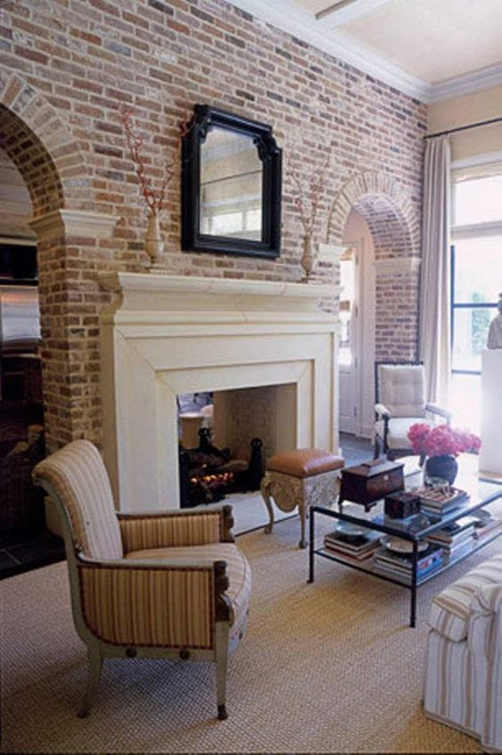 Living Room with Fireplace 18
