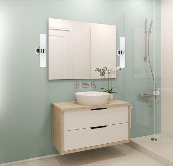 Small Bathroom Vanity: Gorgeous Floating Design