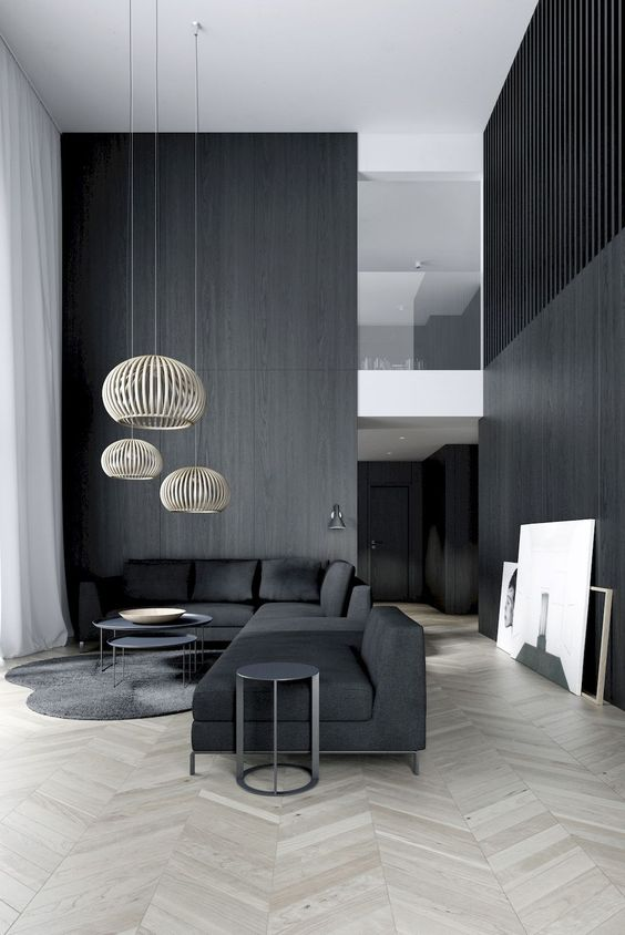 black living room 14