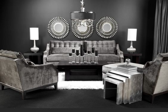 black living room 20