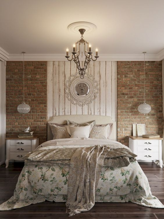Farmhouse Bedroom Ideas: Glam Rustic Decor