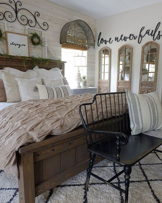 farmhouse bedroom ideas 15