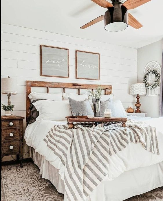 farmhouse bedroom ideas 17