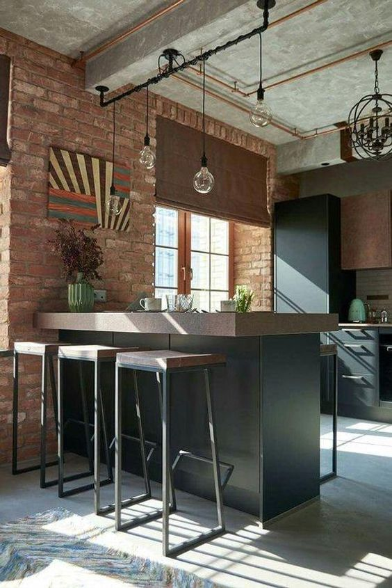 Industrial Kitchen Ideas: Elegant Rustic Decor