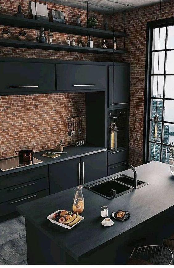 industrial kitchen ideas 11