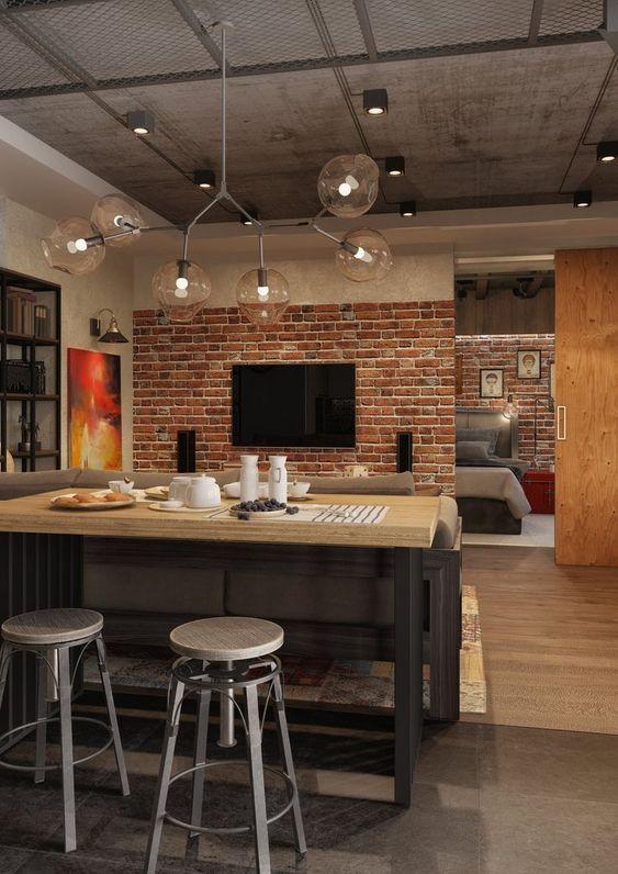 industrial kitchen ideas 19