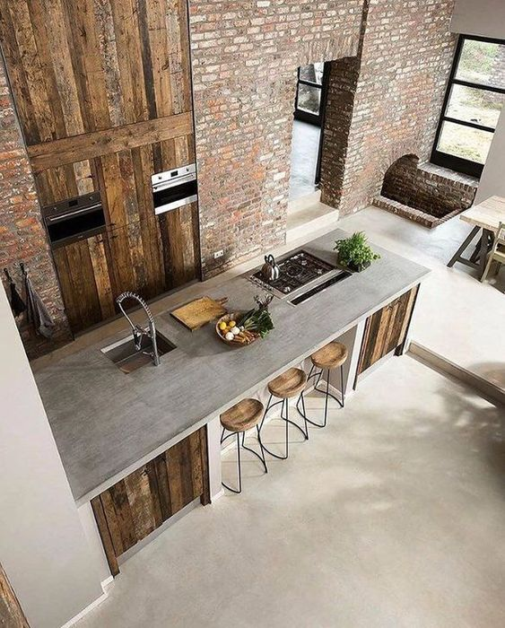 industrial kitchen ideas 20