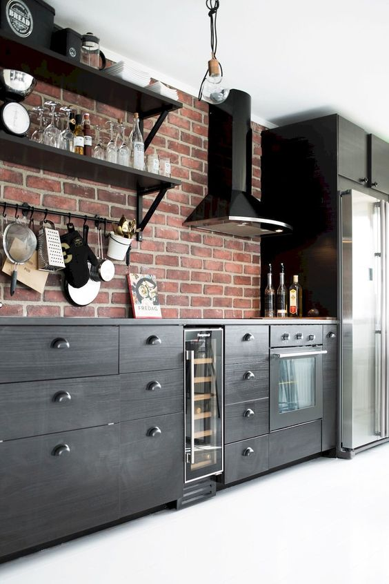 Industrial Kitchen Ideas: Bold Masculine Decor