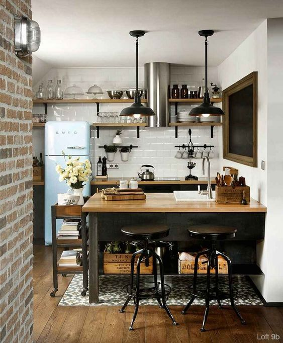 Industrial Kitchen Ideas: Simple Catchy Decor