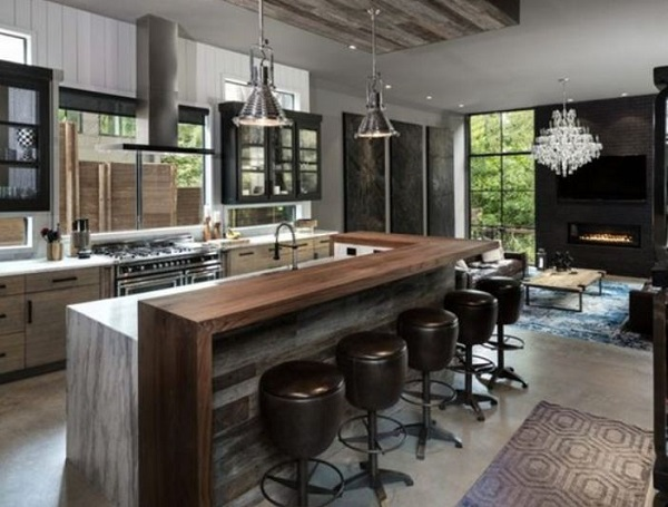 Industrial Kitchen Ideas 20 Simple Easy Diy Decors On A Budget