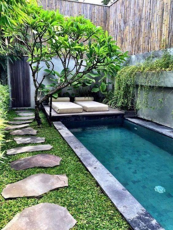 Inground Swimming Pool Ideas 22 Designs To Steal Famedecor Com