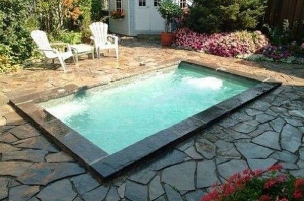 inground swimming pool feature