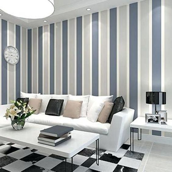Living Room Wall: Catchy Modern Decor