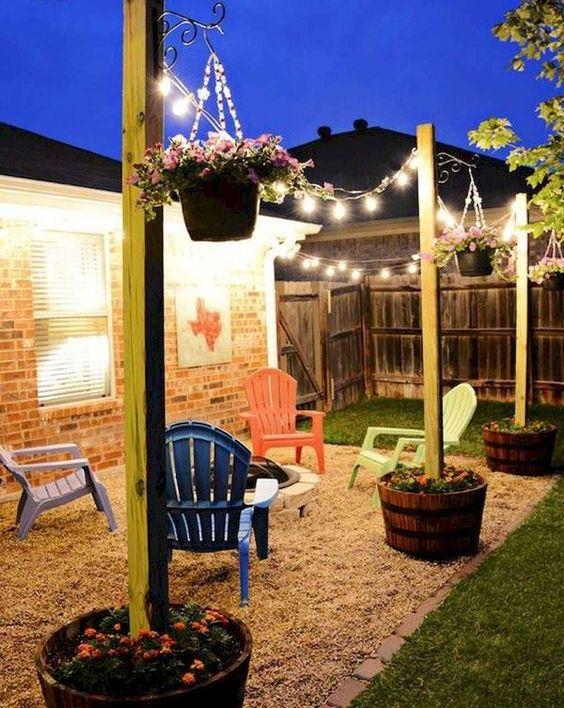 Backyard Lighting Ideas 13
