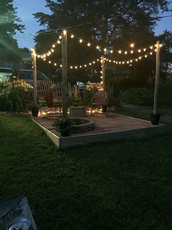 Backyard Lighting Ideas 19