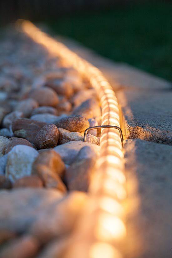 Backyard Lighting Ideas: Chic Lighten Pathway