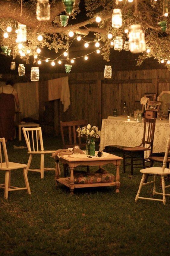 Backyard Lighting Ideas: Catchy Festive Lighting