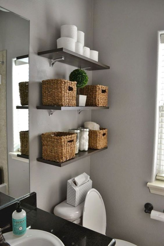 Bathroom Organization Ideas 17