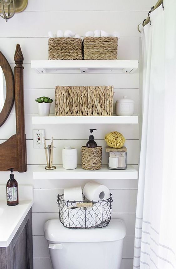 Bathroom Organization Ideas 18