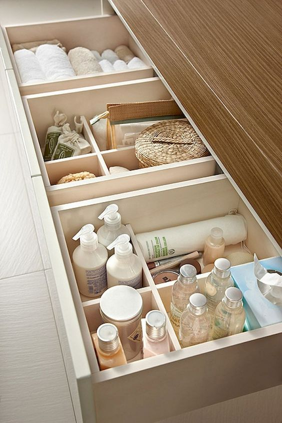 Bathroom Organization Ideas 19