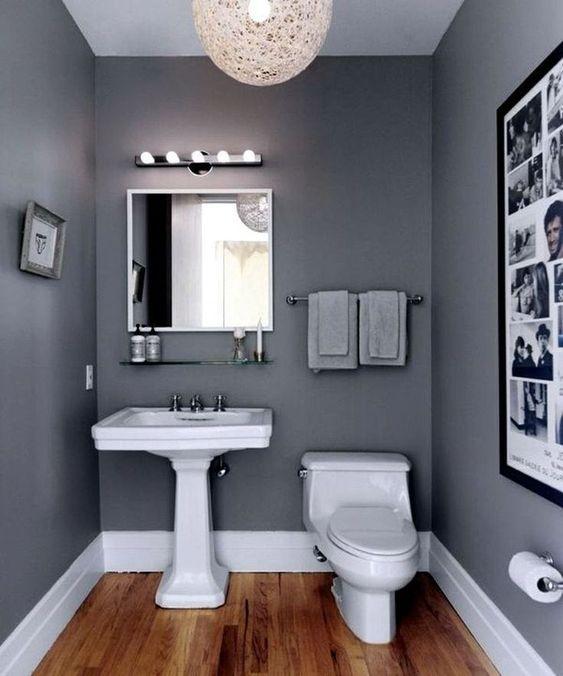 Bathroom Paint Ideas: Warm Neutral Decor