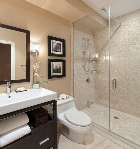 Bathroom Paint Ideas: Gorgeous Warm Decor