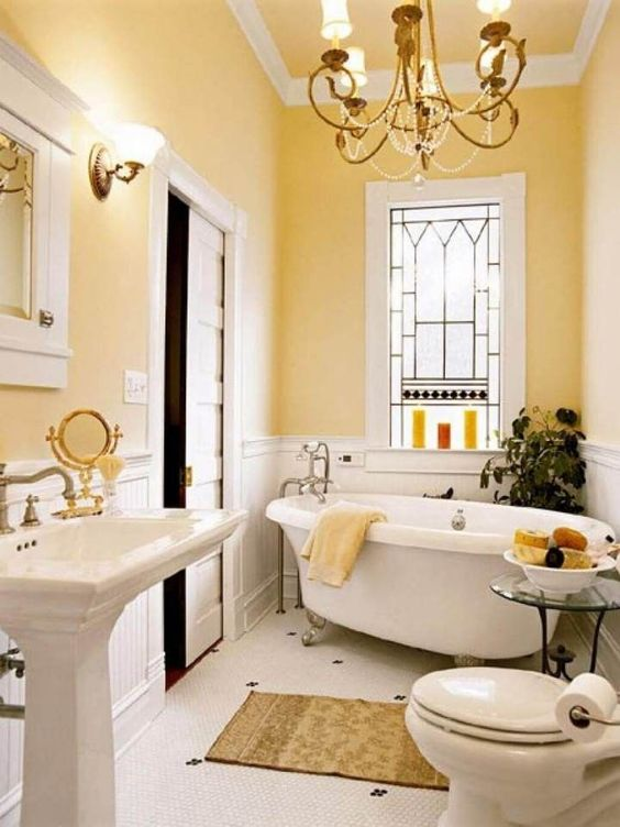 Bathroom Paint Ideas: Cheerful Spring Decor