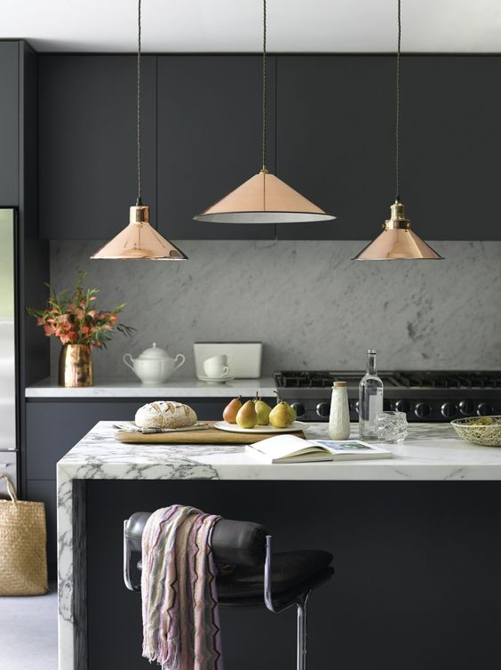 Dark Kitchen Ideas 14