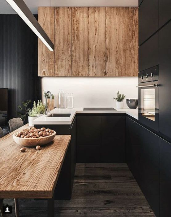 Dark Kitchen Ideas 15