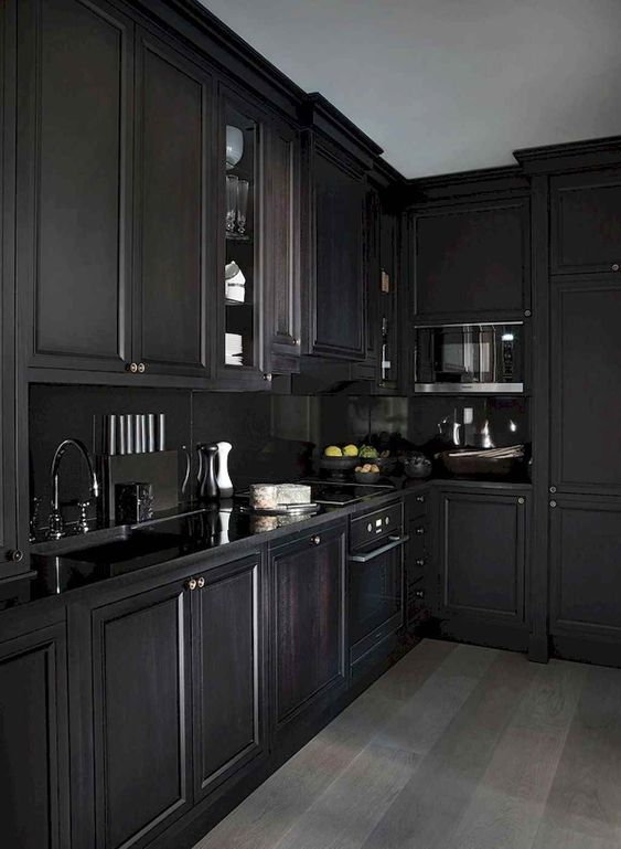 Dark Kitchen Ideas 16