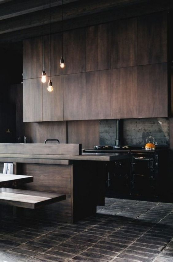 Dark Kitchen Ideas 18