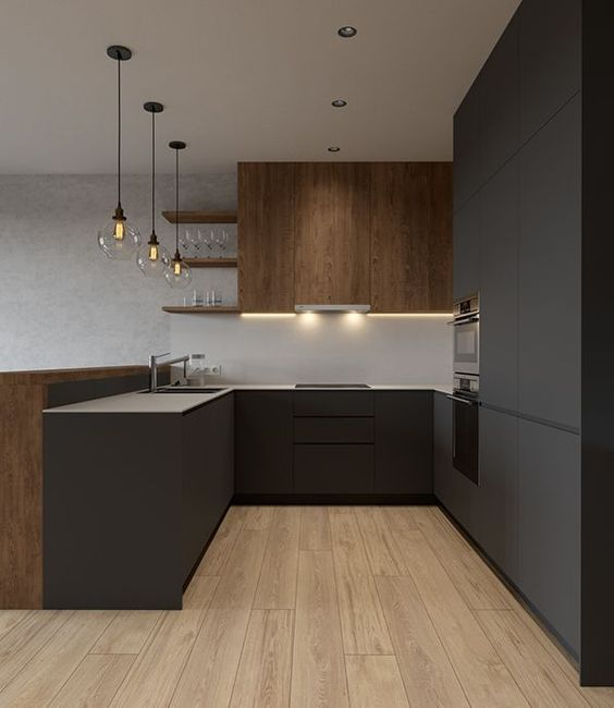 Dark Kitchen Ideas 19