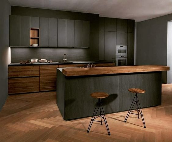 Dark Kitchen Ideas 21