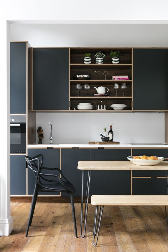 Dark Kitchen Ideas 9