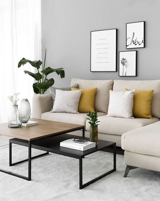 Living Room Apartment Ideas: Catchy Neutral Decor