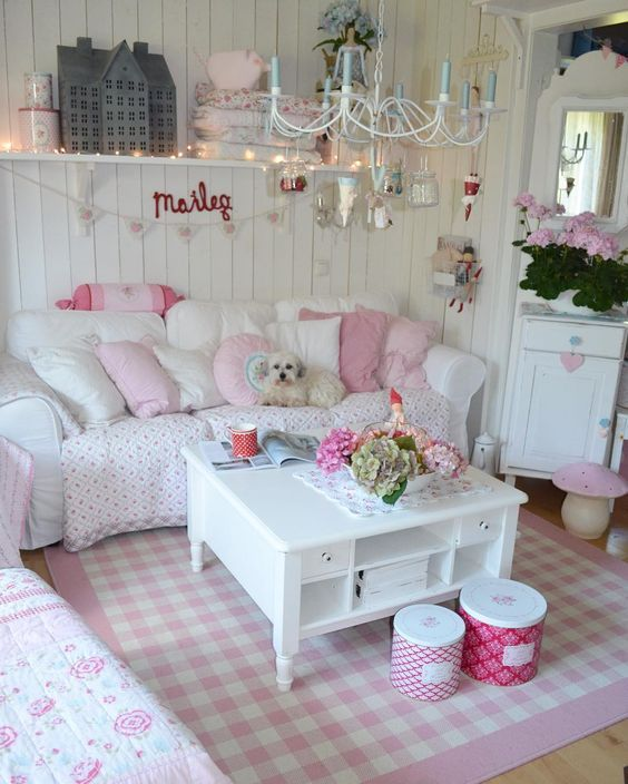 Shabby Chic Living Room Ideas 11