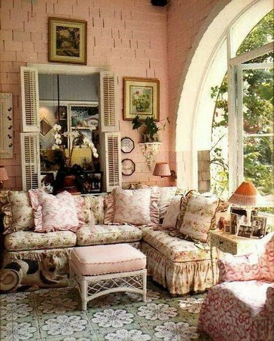 Shabby Chic Living Room Ideas 13