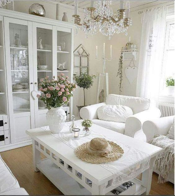 Shabby Chic Living Room Ideas 18