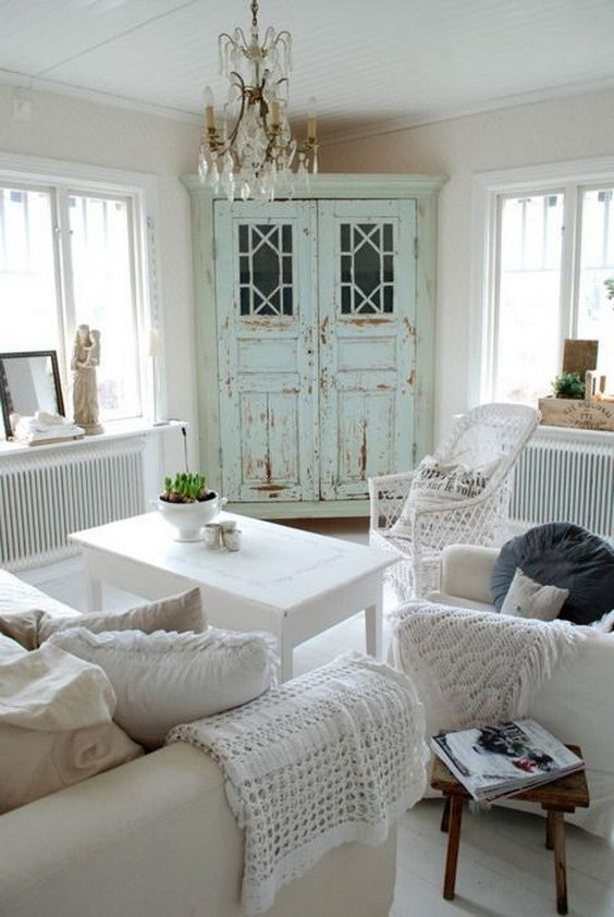 Shabby Chic Living Room Ideas 19
