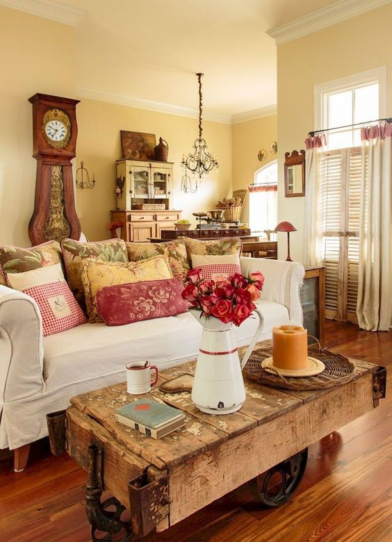 Shabby Chic Living Room Ideas 21