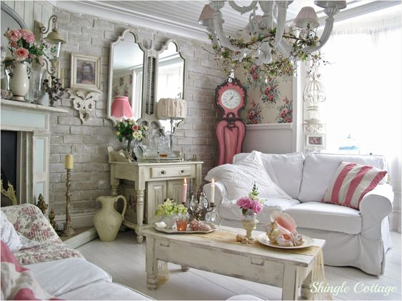 Shabby Chic Living Room Ideas 23