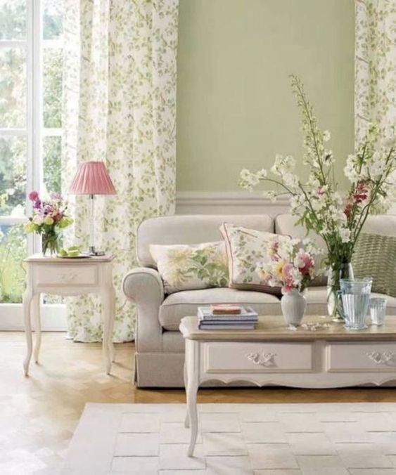 Shabby Chic Living Room Ideas: Gorgeous Earthy Decor