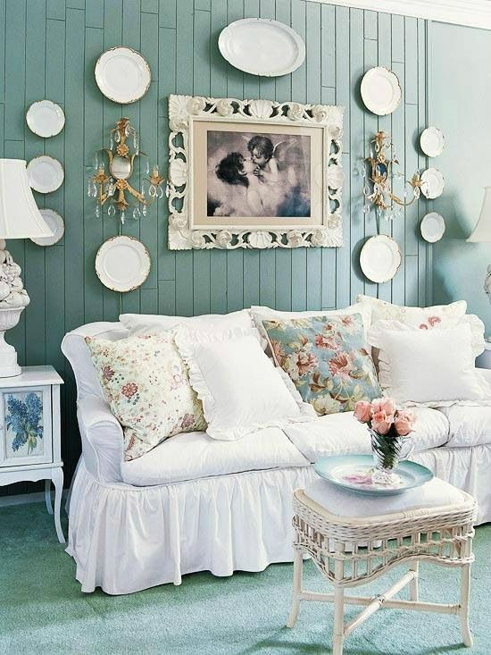 Shabby Chic Living Room Ideas: Elegant Catchy Decor