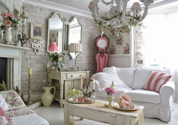 Shabby Chic Living Room Ideas feature