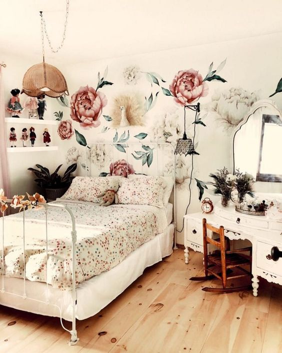 Vintage Bedroom Ideas: Shabby Chic Decor